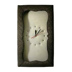 An Upholsterer's Wall Clock
