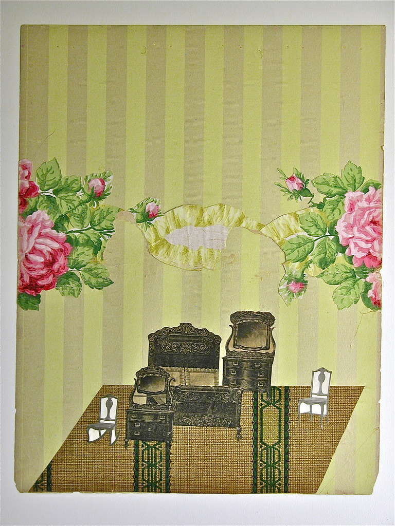 Wallpaper Dollhouse No 3 For Sale At 1stdibs