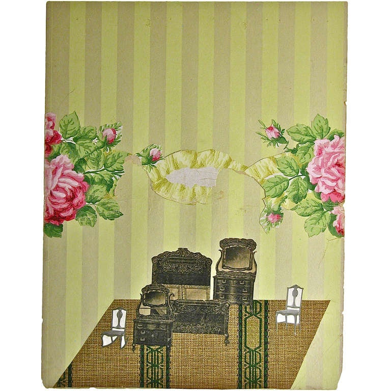 Wallpaper Dollhouse No.3 For Sale
