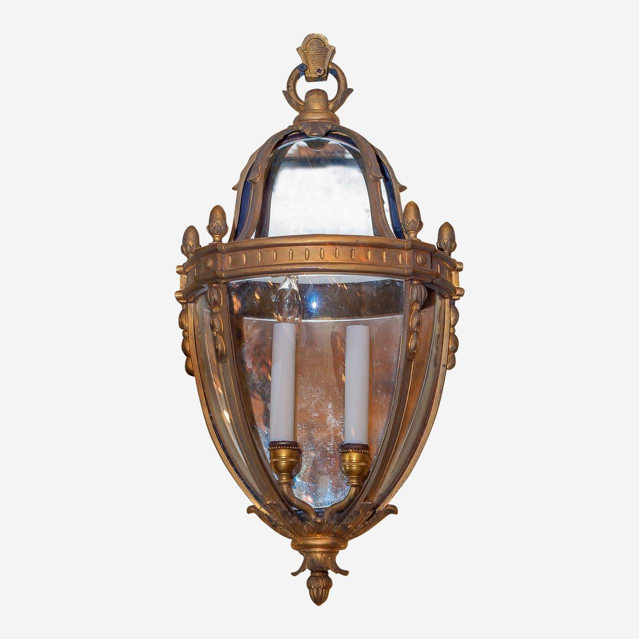 Vintage Outdoor Wall Lights Unusual pair of lantern form bronze wall light sconces for sale at unusual pair of lantern form bronze wall light sconces workwithnaturefo