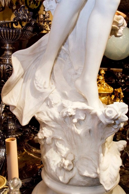 Very Fine Quality Life Size Marble Statue 2