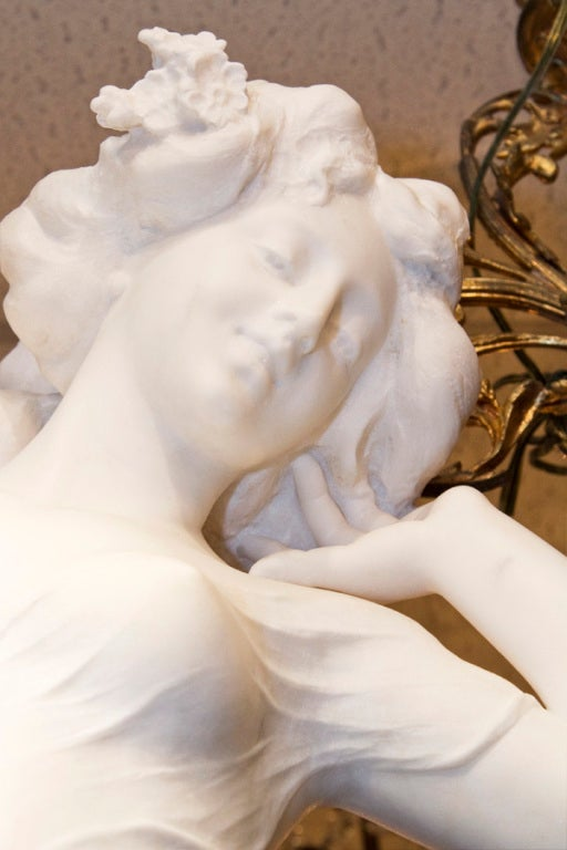 Very Fine Quality Life Size Marble Statue image 3