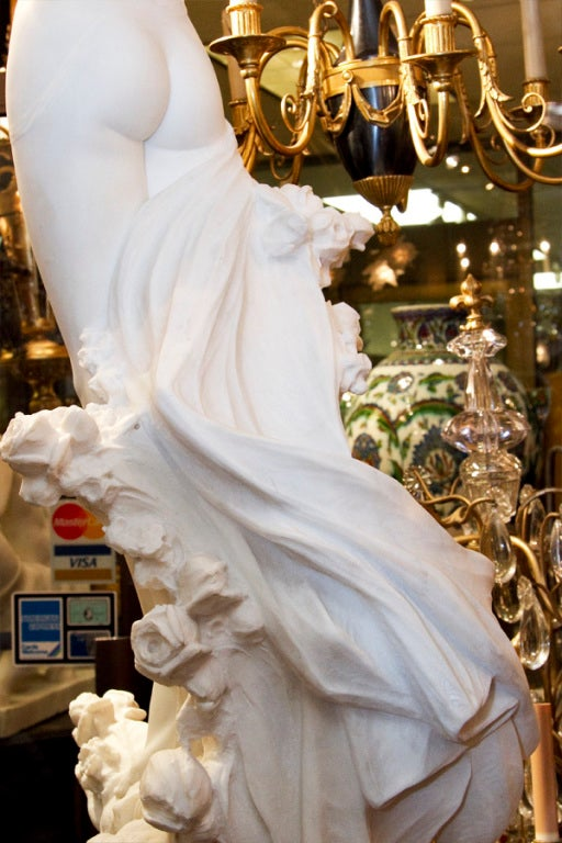 Very Fine Quality Life Size Marble Statue image 4