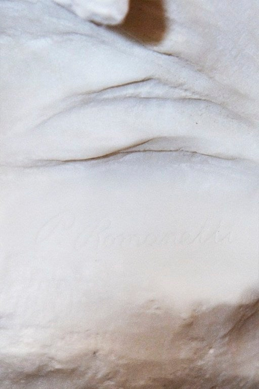 Very Fine Quality Life Size Marble Statue image 5