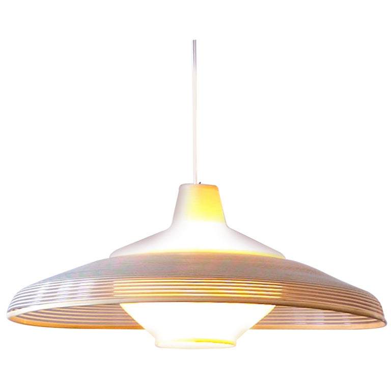 1950s Rotaflex Ceiling Lamp By A R P At 1stdibs
