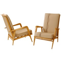 Pair of Armchairs by Etienne Henri Martin