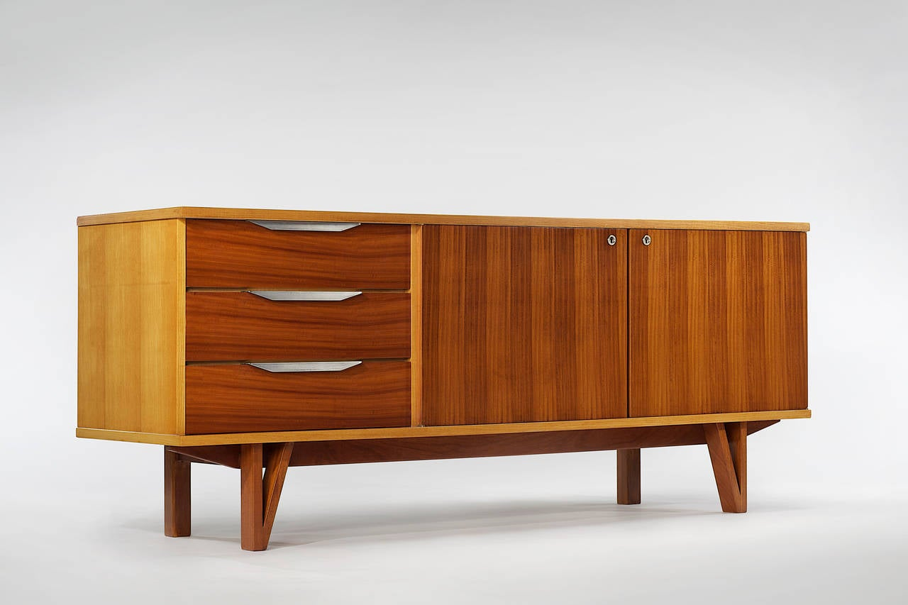 1957 Credenza by René Jean Caillette In Excellent Condition In New York, NY