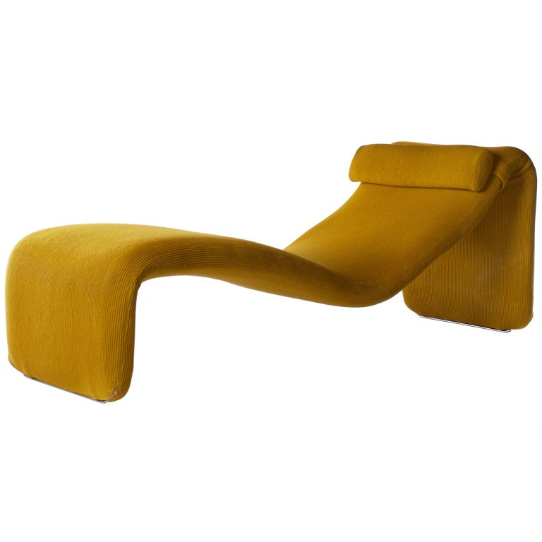 1960s Djinn Lounge Chair By Olivier Mourgue At 1stdibs