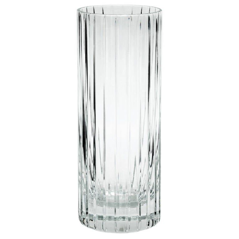 Elegant Crystal Vase By Baccarat France 1970s At 1stdibs