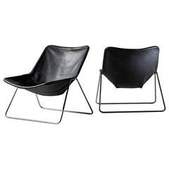 Pair of G1 Chairs by Pierre Guariche