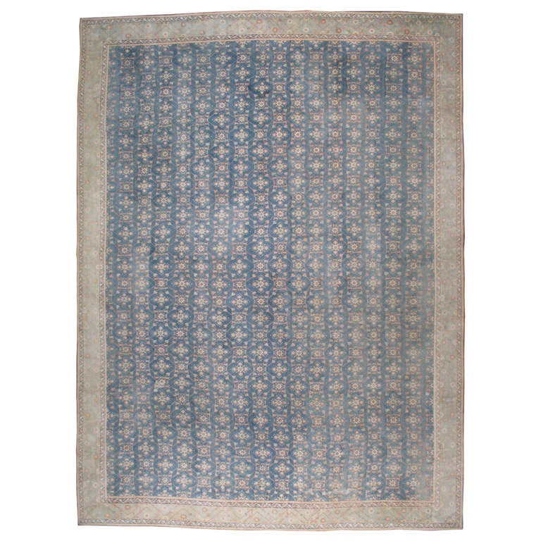 Antique Indian Cotton Agra Rug At 1stdibs