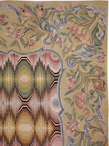 Antique French Aubusson Rug image 3