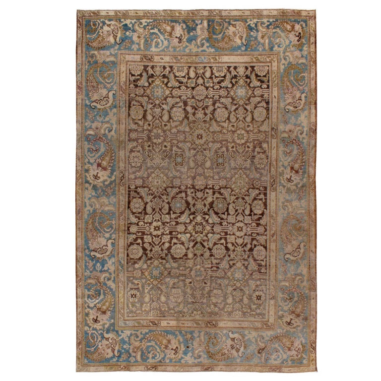 Antique Persian Malayer Rug At 1stdibs