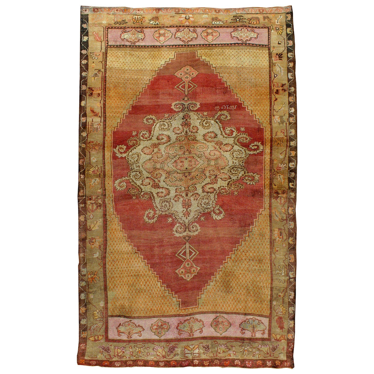 Turkish Vintage Anatolian Rug At 1stdibs