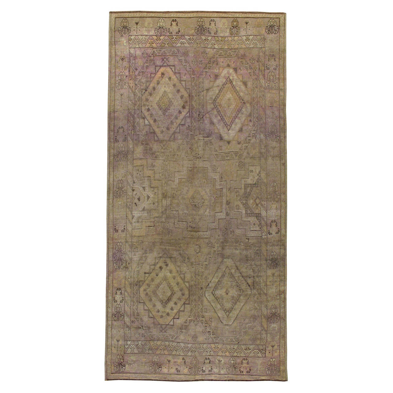 Vintage Distressed Moroccan Rug For Sale At 1stdibs
