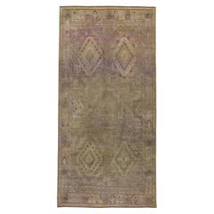 Vintage Distressed Moroccan Rug