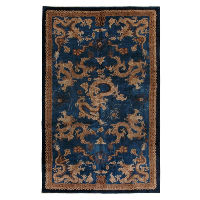 Chinese Rug Dealers: Antique Chinese Dragon Rug At 1stdibs