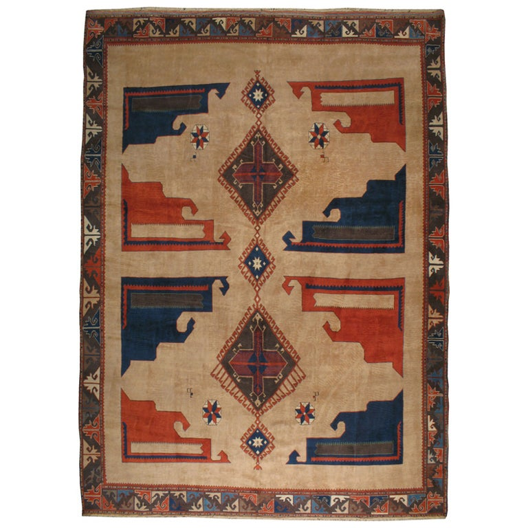 Vintage Turkish Anatolian Rug At 1stdibs