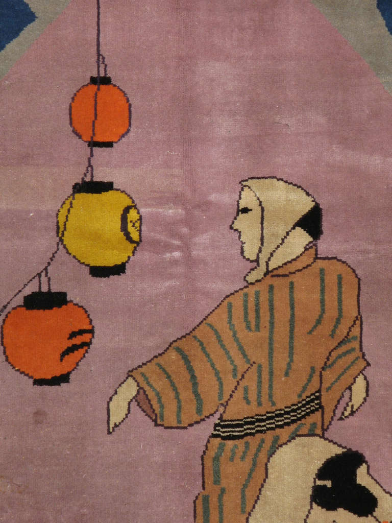 An early 20th century Japanese Deco Art.