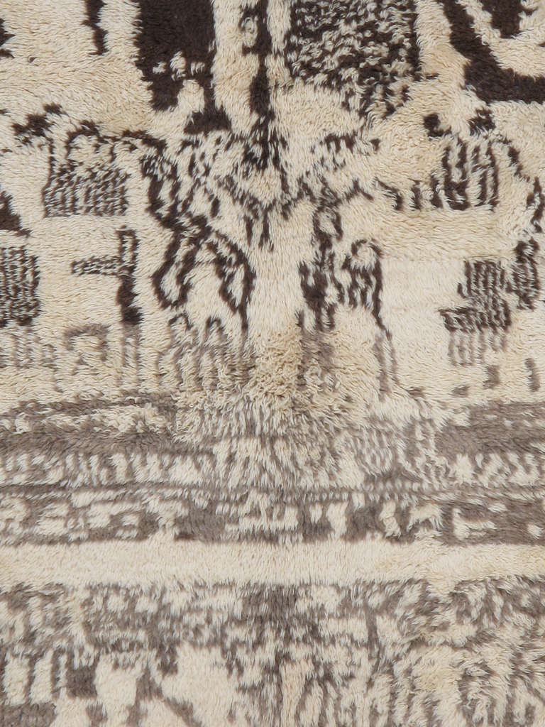 Moroccan rug.