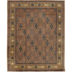 Vintage East Turkestan Samarkand Rug