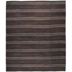 Vintage American Rag Rug