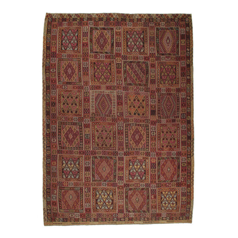 Superb Antique East Anatolian Kilim Rug For Sale