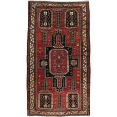 Vintage Russian Caucasian Rug