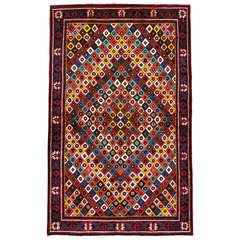 Vintage Persian Joshegan Rug