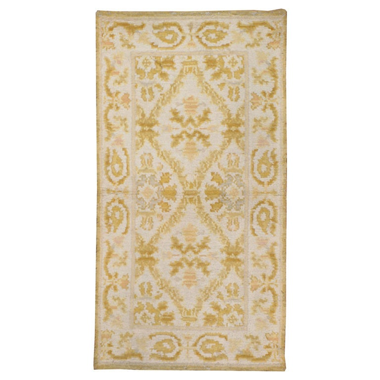 Antique Spanish Cuenca Rug At 1stdibs