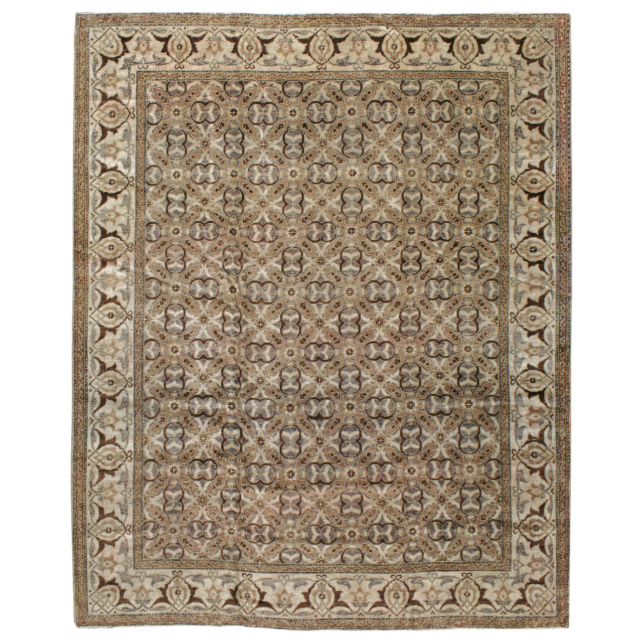 Antique Indian Lahore Rug For Sale At 1stdibs