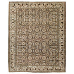 Antique Indian Lahore Rug