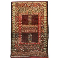 Antique Central Asian Bokhara Rug