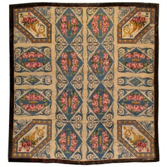 Antique European Savonnerie Rug