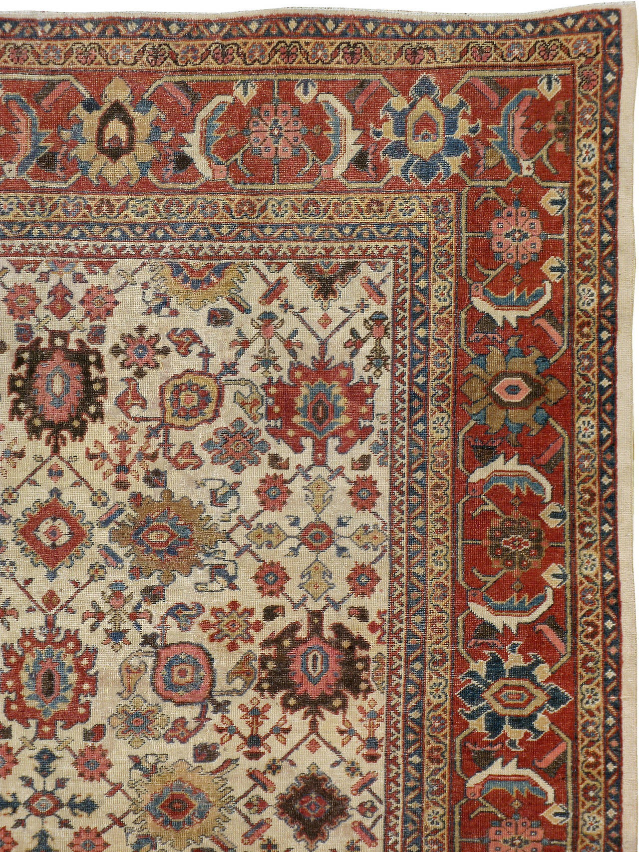 Antique Persian Mahal Rug For Sale At 1stdibs