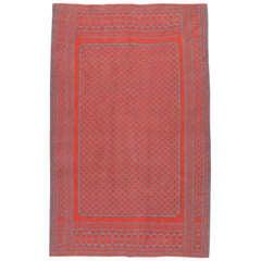 Vintage Persian Double Side Flatweave  Rug