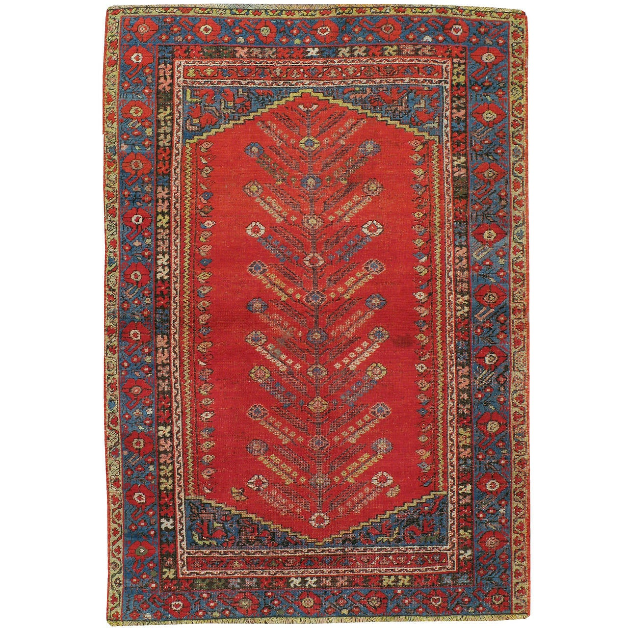 Antique Turkish Kula Rug