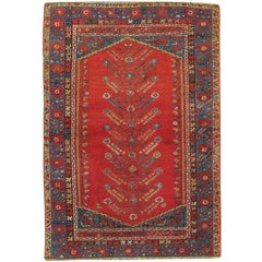 Antique Turkish Kula Rug