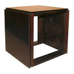 Ingenious Danish Rosewood Cube of Nesting Tables