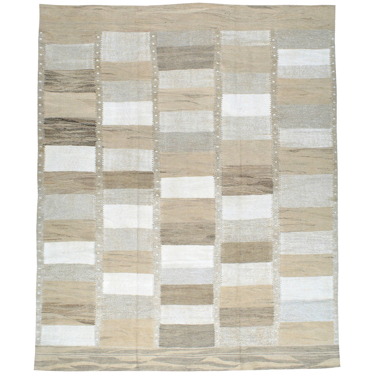 Modern Turkish Flat-Woven Kilim Rug For Sale At 1stdibs