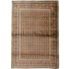 Vintage Indian Lahore Rug