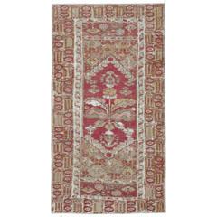 Antique Turkish Ghourdes Rug