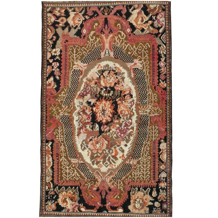 Antique Russian Karabagh Rug For Sale At 1stdibs