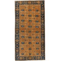 Antique East Turkestan Samarkand Rug