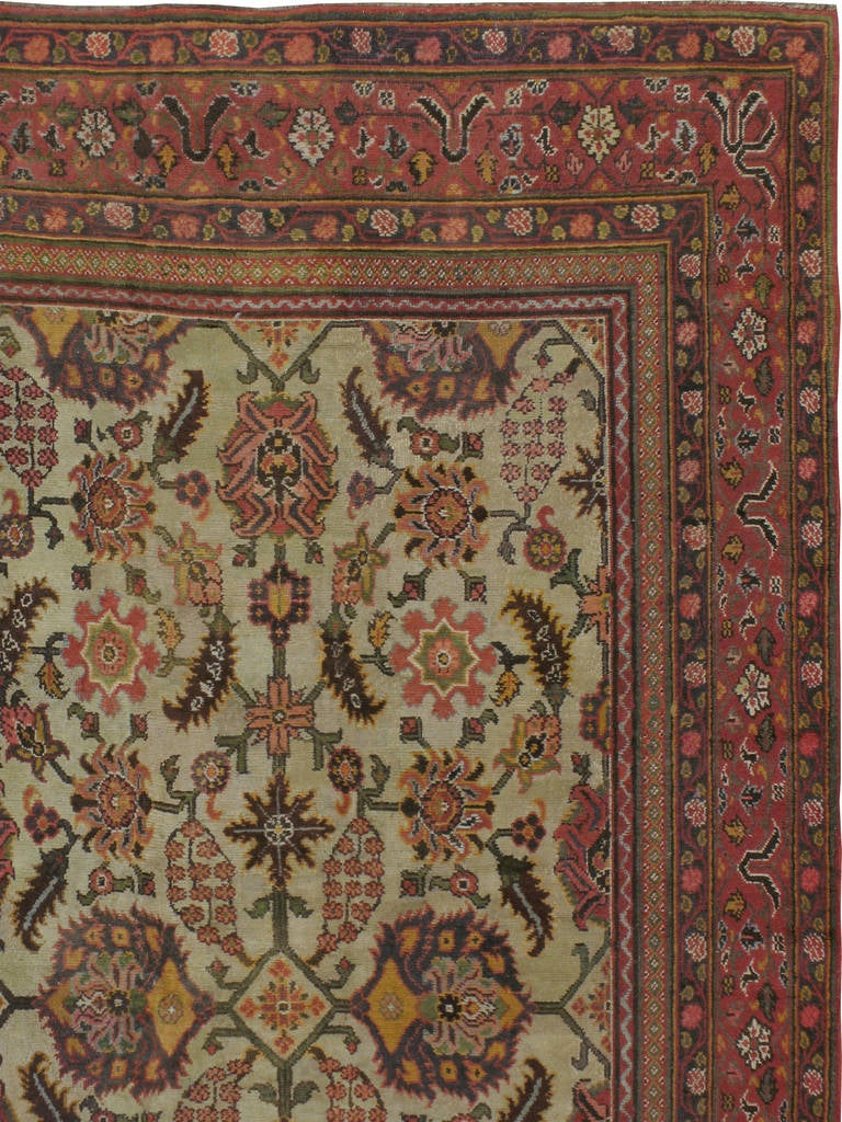 Antique Indian Lahore Rug At 1stdibs