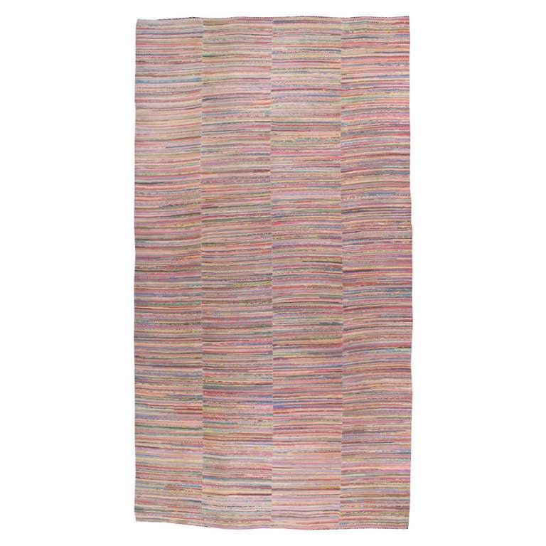 Rag Rug Prices: Vintage American Rag Rug For Sale At 1stdibs