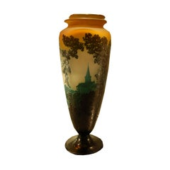 Emile Galle Art Deco Vase