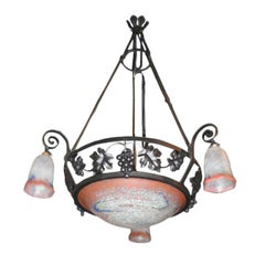 Art Deco Chandelier by Mulaty