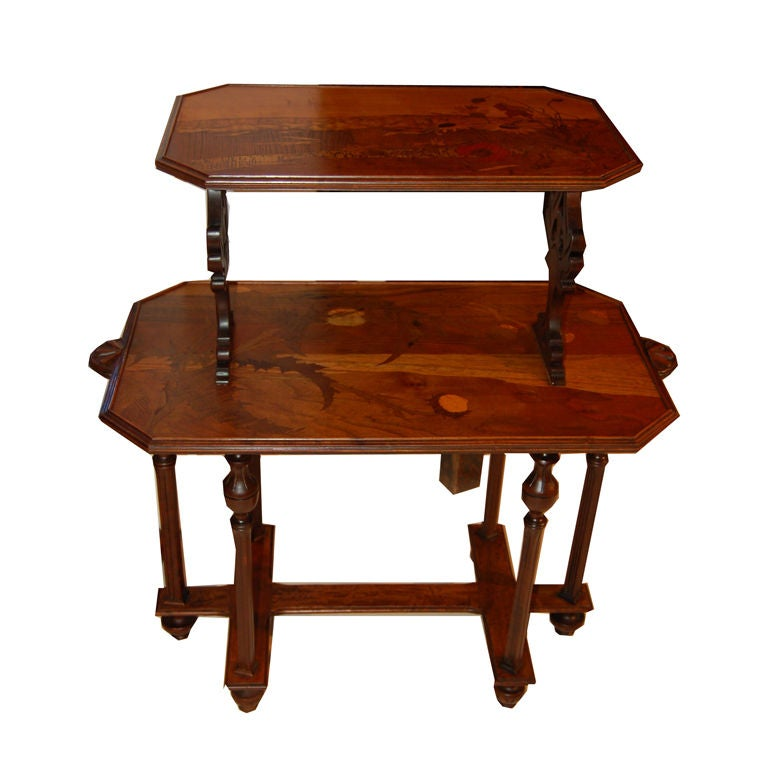 French Art Deco Emile Galle Table