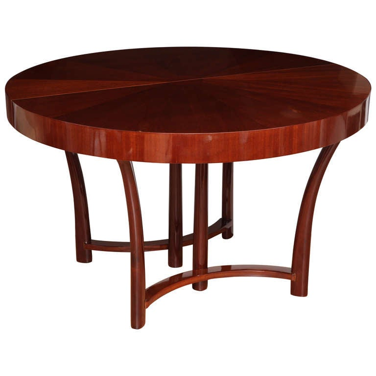 round widdicomb dining table designed in 1938 for sale at